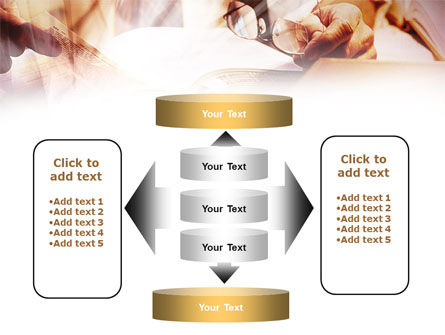 Library Books PowerPoint Template Slide 13
