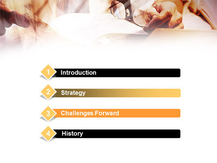 Library Books PowerPoint Template, Slide 3, 00860, Education & Training — PoweredTemplate.com