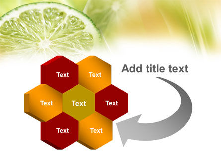 Lemon Slice PowerPoint Template Slide 11