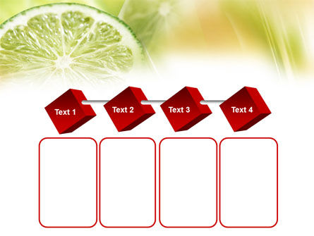 Lemon Slice PowerPoint Template Slide 18