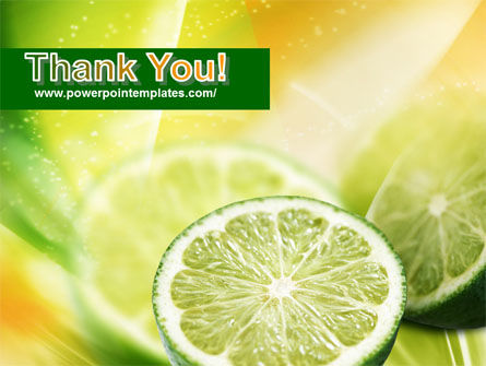 Lemon Slice PowerPoint Template Slide 20