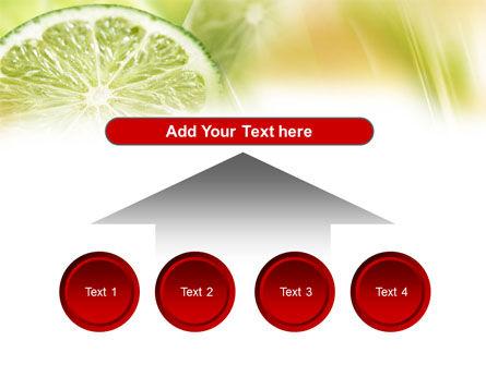 Lemon Slice PowerPoint Template Slide 8