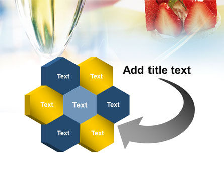 Goblet With White Wine PowerPoint Template Slide 11