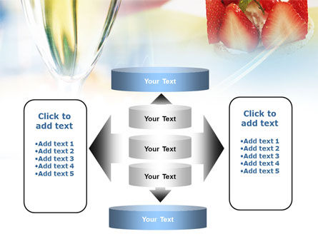 Goblet With White Wine PowerPoint Template Slide 13