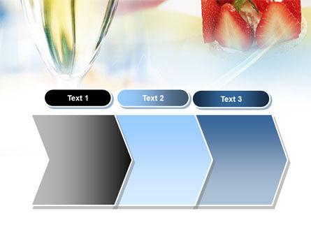 Goblet With White Wine PowerPoint Template Slide 16