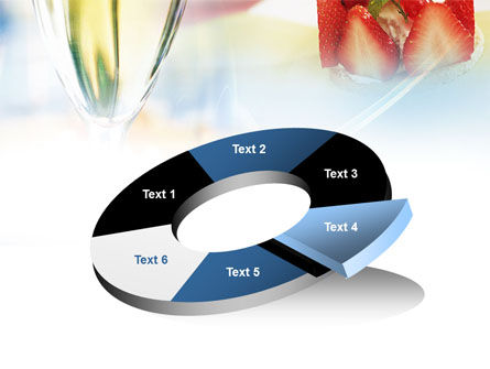 Goblet With White Wine PowerPoint Template Slide 19