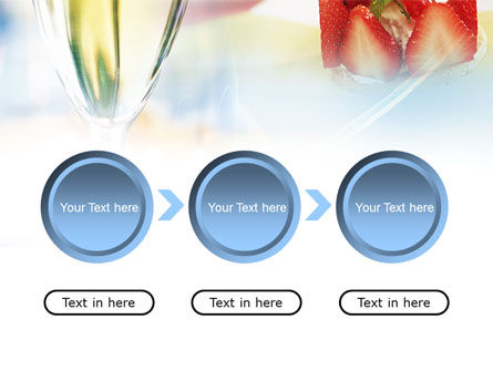 Goblet With White Wine PowerPoint Template Slide 5
