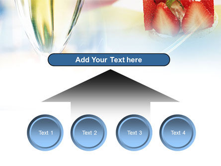 Goblet With White Wine PowerPoint Template Slide 8