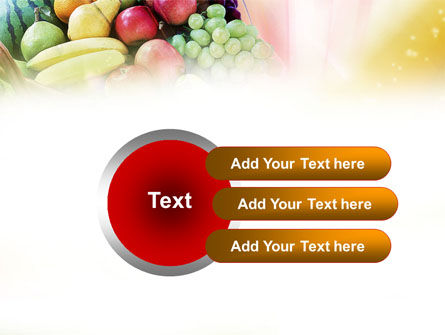 Basket of Fruits PowerPoint Template Slide 12