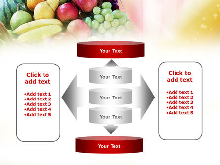 Basket of Fruits PowerPoint Template Slide 13