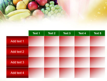 Basket of Fruits PowerPoint Template Slide 15