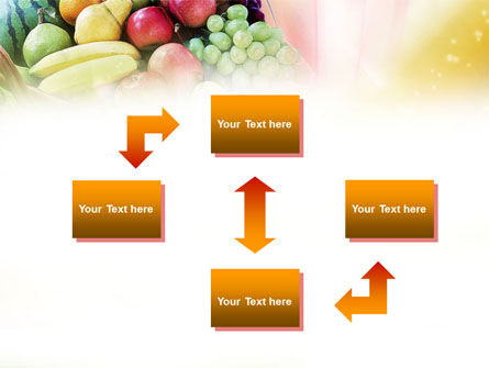 Basket of Fruits PowerPoint Template, Slide 4, 00866, Agriculture — PoweredTemplate.com