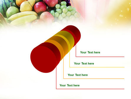 Basket of Fruits PowerPoint Template Slide 7