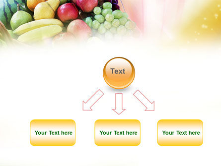 Basket of Fruits PowerPoint Template Slide 8