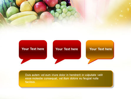Basket of Fruits PowerPoint Template Slide 9