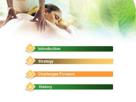 Relaxing Massage PowerPoint Template, Slide 3, 00871, Health and Recreation — PoweredTemplate.com