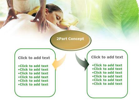 Relaxing Massage PowerPoint Template, Slide 4, 00871, Health and Recreation — PoweredTemplate.com