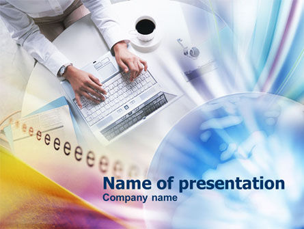 Online Business Activity PowerPoint Template