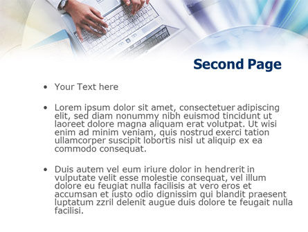 Online Business Activity PowerPoint Template Slide 2