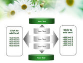 Daisies PowerPoint Template#13