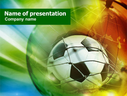 Soccer World Cup Powerpoint Template Backgrounds