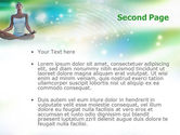 Modern Yoga PowerPoint Template#2