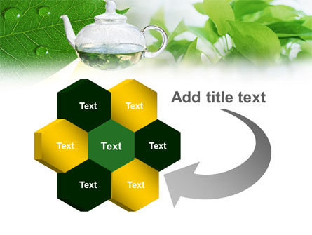 Green Tea PowerPoint Template Slide 11