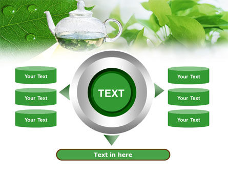 Green Tea PowerPoint Template Slide 12