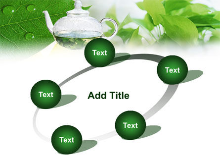 Green Tea PowerPoint Template Slide 14