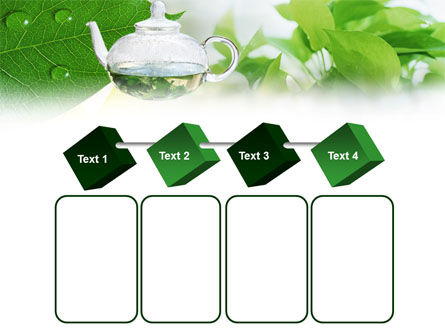 Green Tea PowerPoint Template Slide 18