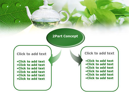 Green Tea PowerPoint Template Slide 4