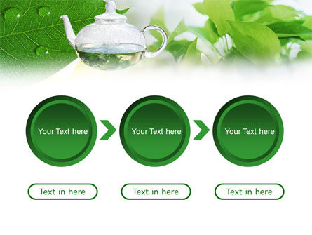 Green Tea PowerPoint Template Slide 5