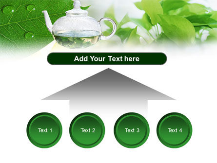 Green Tea PowerPoint Template Slide 8