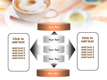 Cappuccino PowerPoint Template Slide 13