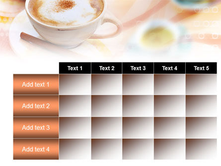 Cappuccino PowerPoint Template Slide 15