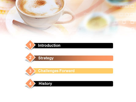 Cappuccino PowerPoint Template Slide 3