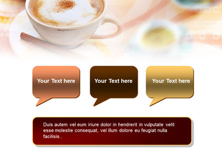 Cappuccino PowerPoint Template Slide 9