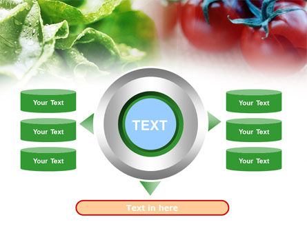 Tomato And Cabbage PowerPoint Template Slide 12