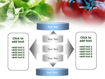 Tomato And Cabbage PowerPoint Template Slide 13