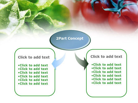 Tomato And Cabbage PowerPoint Template, Slide 4, 00883, Food & Beverage — PoweredTemplate.com