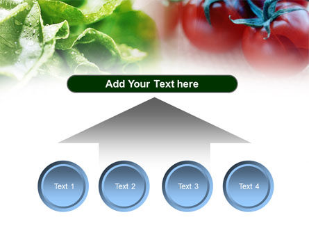 Tomato And Cabbage PowerPoint Template Slide 8