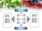 Tomato And Cabbage PowerPoint Template#13