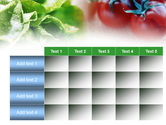 Tomato And Cabbage PowerPoint Template#15