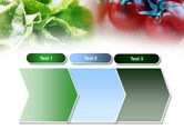 Tomato And Cabbage PowerPoint Template#16
