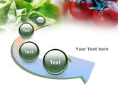 Tomato And Cabbage PowerPoint Template#6