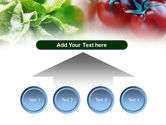 Tomato And Cabbage PowerPoint Template#8