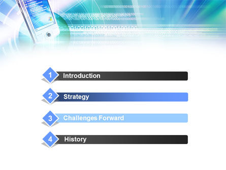 Windows Phone PowerPoint Template, Slide 3, 00887, Technology and Science — PoweredTemplate.com