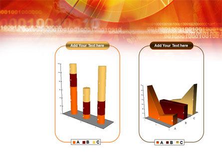 Orange Binary Theme PowerPoint Template Slide 13