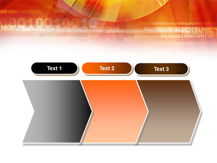Orange Binary Theme PowerPoint Template Slide 16