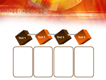 Orange Binary Theme PowerPoint Template Slide 18